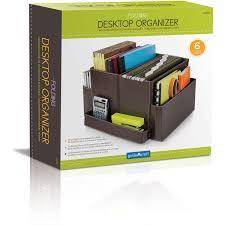 Office Desk Organizers by Folding Desk Organizer Brown Brown Walmart Com