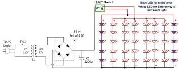 led lights circuit diagram iron blog