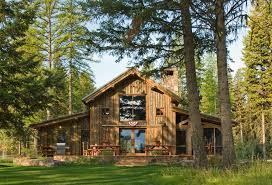 Small Luxury Homes For Sale - montana mountain barn retreat small house swoon