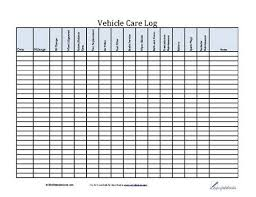 Truck Maintenance Spreadsheet by Best 25 Vehicle Maintenance Log Ideas On Auto