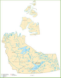 Road Map Of Canada by Northwest Territories Maps Canada Maps Of Northwest