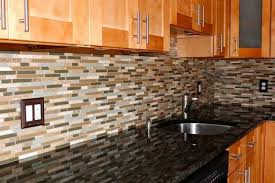 Exquisite Design Stick On Kitchen Backsplash Top  Best Peel - Backsplash peel and stick