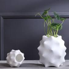 crescent shape decorative ceramic vases floor vase large vase