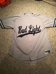 bud light baseball jersey bud light cycling jersey for sale classifieds