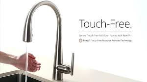 delta touch faucet red light delta touch kitchen faucet delta kitchen faucet with technology