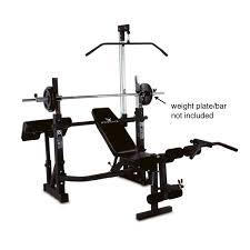 Weights And Bench Set Phoenix 99226 Power Pro Olympic Bench Hayneedle