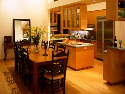 Interior Of A Kitchen Kitchen And Dining Room Wallpapers And Images Wallpapers