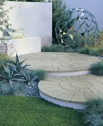 Circular Patio Kit by Stonemarket Yorkstone Quadrant Circle Kit Buff From Alton Garden