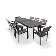 Black And White Patio Furniture Size 9 Piece Sets Outdoor Dining Sets Shop The Best Patio