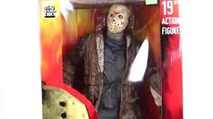Neca Freddy Vs Jason Jason Voorhees 19 Inch Figure Youtube