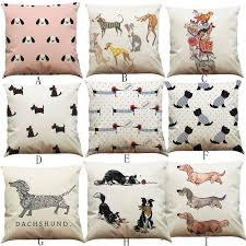 Sausage Dog Duvet Cover Dog Pattern Pillowcase Sausage Dog Puppy Pillow Case Pillow Cover