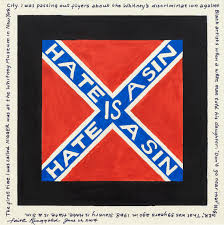 Blue And White Flag Cross An Incomplete History Of Protest Selections From The Whitney U0027s