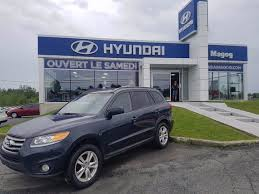 siege hyundai hyundai magog used 2012 hyundai santa fe for sale in magog
