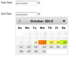 format date javascript jquery javascript how to set date range in jquery datepicker and set it