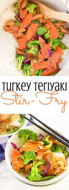 turkey teriyaki stir fry gluten free simple fast