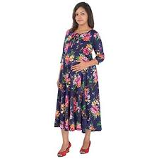 ziva maternity wear buy ziva maternity wear women cotton dress online looksgud in