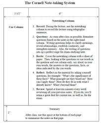 Cornell Notes Google Docs Template Cornell Notes In Math Our Shell Notes Leave Space For The