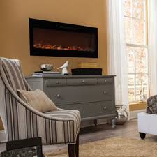 touchstone 80004 sideline 50 recessed electric fireplace 50