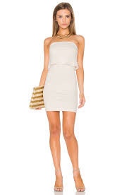 susana monaco susana monaco meredith dress in blanched almond revolve
