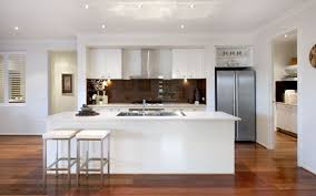 dark floors white bench tops and cabinets exact colours except