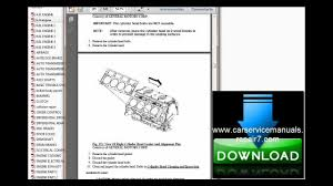 chevrolet silverado 2007 2008 2009 service manual and repair