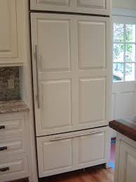 Flush Kitchen Cabinet Doors Cabin Remodeling Kitchen Refrigerator Cabinet Covered Cabinets