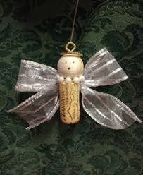 wine cork ornament pinned this because i like the way the