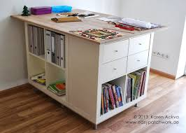 ikea craft table hack new customized sewing room cutting table ikea hackers