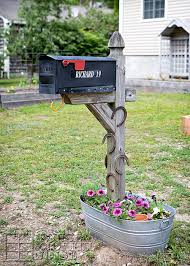 8 easy diy mailbox designs decorative mailbox ideas
