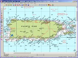 Puerto Rico Beaches Map by