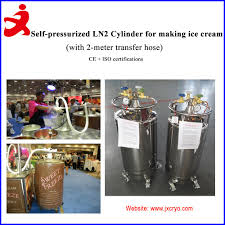 liquid nitrogen ice cream machine cryogenic tank 100liters ydz 100