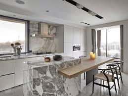 cuisine avec ilot central et coin repas coin repas cuisine moderne banc et table angle cuisine coin repas