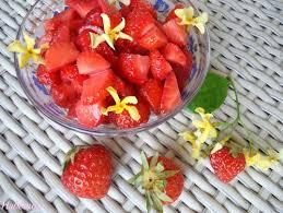 eau de fleur d oranger cuisine salade de fraises à l eau de fleur d oranger envie de pâtisseries