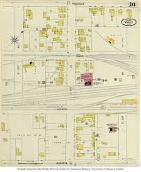 Waco Map Sanborn Maps Of Texas Perry Castañeda Map Collection Ut