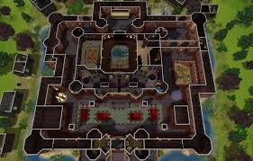 sims 3 floor plan my sims 3 blog flesh and bones the vampire castle by