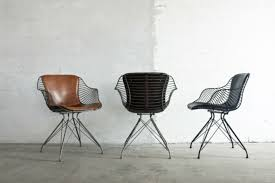 Wire Desk Chair Furniture Fascinating Industrial Style Dining Chairs Inspirations