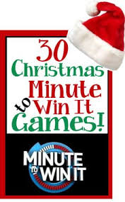 Easy Christmas Games Party - christmas holiday theme minute to win it games i love