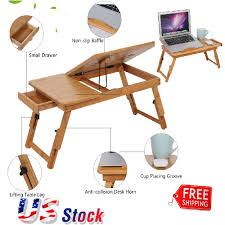 Computer Desk Portable by Adjustable Vented Laptop Table Laptop Computer Desk Stand Portable
