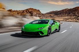 lamborghini huracan front 2018 lamborghini huracán performante first test review motor trend