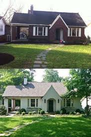 Curb Appeal Photos - painted brick homes add charm u0026 curb appeal omg lifestyle blog