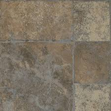 Grey Laminate Tile Flooring Shop Armstrong Stones And Ceramics 15 94 In W X 3 98 Ft L Roman