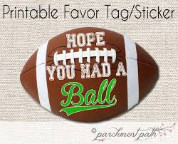 football favors the 25 best football favors ideas on sports party