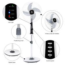pedestal fan with remote costway rakuten costway 15 pedestal fan stand 4 blades 3 speed