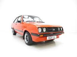Mk2 Escort Rs2000 Interior A Very Rare Early Ford Escort Mk2 Rs2000 Broadstripe In