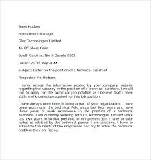 simple cover letter examples 10 download free documents in pdf