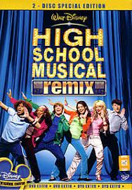 high school high dvd moviexclusive high school musical remix dvd 2007
