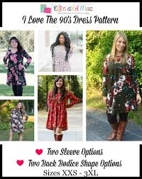 90s dress women s i the 90 s dress pdf sewing pattern by ellie and mac