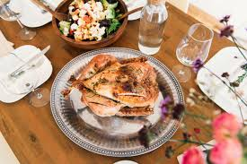 free stock photo of thanksgiving meal with turkey domain