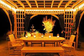 Outdoor Pergola Lights by Pergola Lighting Solutions Embellish Outdoor With Pergola