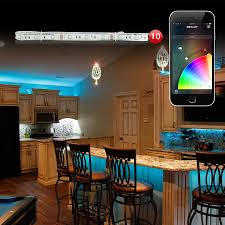 home interior led lights 10pc 3ft xkglow xkchrome ios android app bluetooth